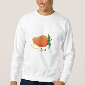 Mango-Liebe-FruchtWatercolorMandala Sweatshirt