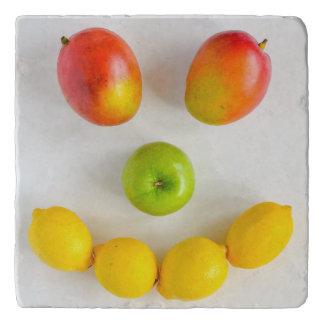 Mango-smiley Trivet Töpfeuntersetzer