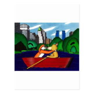Manhattan-Kuss Postkarte