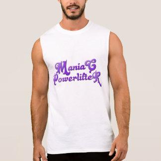 Maniac Powerlifter T - Shirt Sleeveless