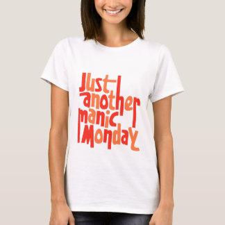 Manic Montag-80er Retro Pop-Kultur-Grafik T-Shirt