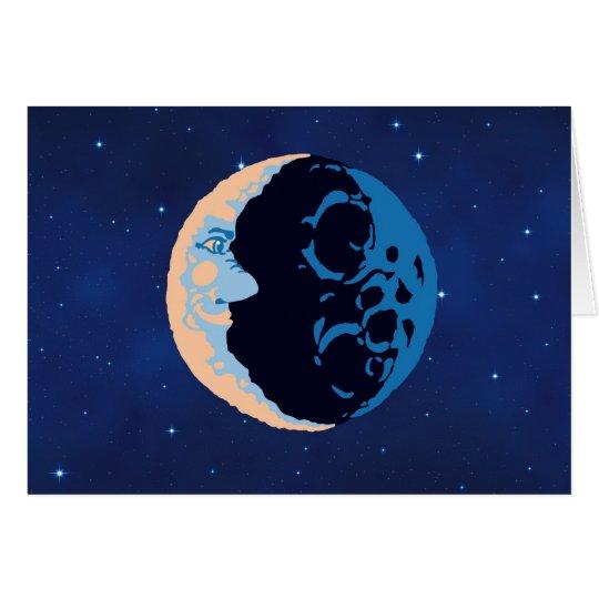Mann im Mond Karte