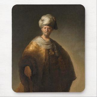 Mann im orientalischen Kostüm, durch Rembrandt Van Mauspad