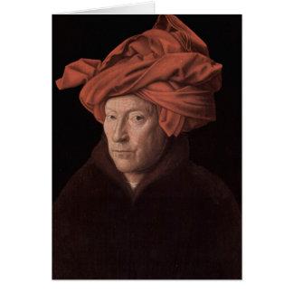 Mann in einem Turban Karte