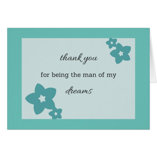 Mann meiner Träume 1 Grußkarte