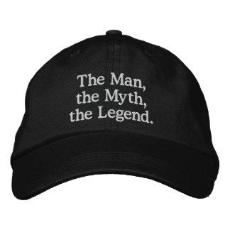 Mann, Mythos, Legenden-Hut Bestickte Baseballcaps
