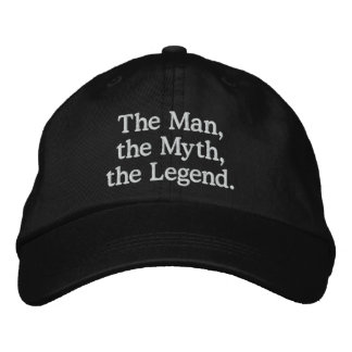 Mann, Mythos, Legenden-Hut Bestickte Baseballkappe