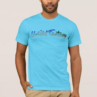 Mann-Strand T-Shirt