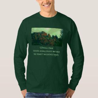 Mann und Natur lakota Sprichwort T-Shirt