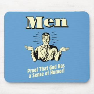 Männer: Richtung des Spaßes Mauspad
