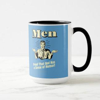 Männer: Richtung des Spaßes Tasse