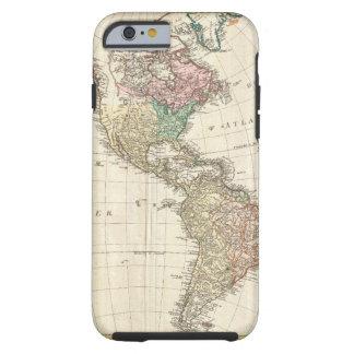 Mannert Karte 1796 des Nordens und des Südamerikas Tough iPhone 6 Hülle