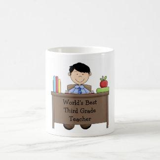 Männliche Lehrer-Anerkennungs-Tasse Kaffeetasse