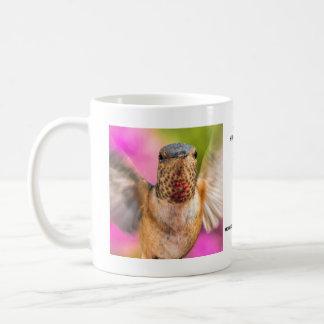Männlichen Allens Kolibri-Tasse Kaffeetasse
