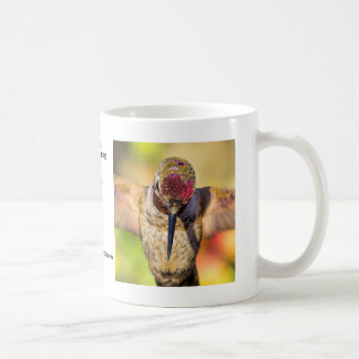Männlicher Annas Kolibri-Tasse Kaffeetasse