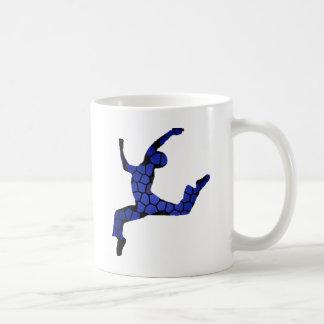 Männlicher Tänzer Kaffeetasse