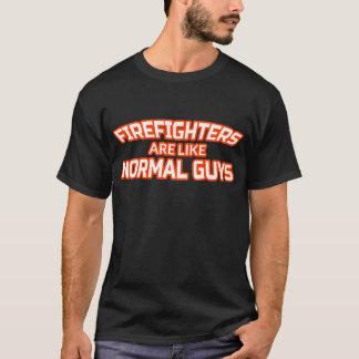 Männliches Feuerwehrmann-T-Shirt - T-Shirt