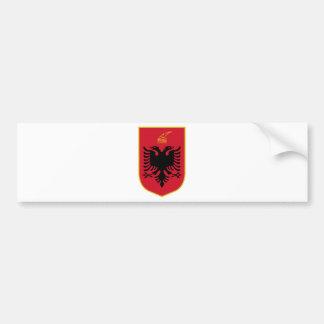 Manteau de l'Albanie des bras Autocollant De Voiture