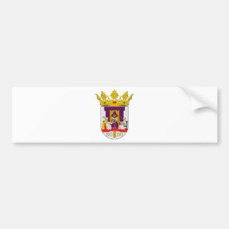 Mantel Sevillas (Spanien) von Arms1 Autoaufkleber