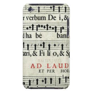 Manuscrit de musique coque iPod Case-Mate
