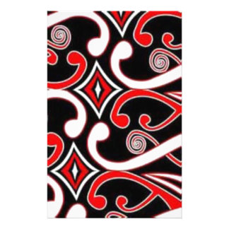 Maori- Entwürfe Briefpapier