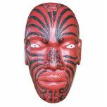 Maori- Kriegs-Kanu-Repräsentationsfigur Fotoskulptur Ornament