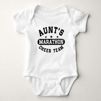 Marathon Cheer Team Tante Baby Strampler