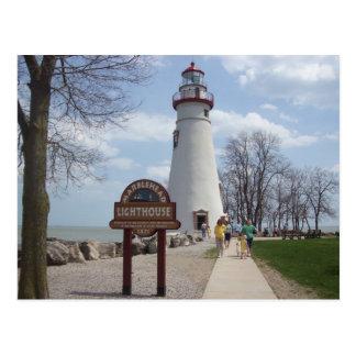 Marblehead Leuchtturm, Ohio Postkarte
