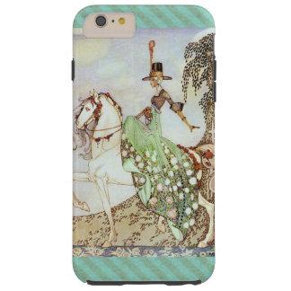 Märchen-Prinzessin Riding ein weißes Pferd Tough iPhone 6 Plus Hülle