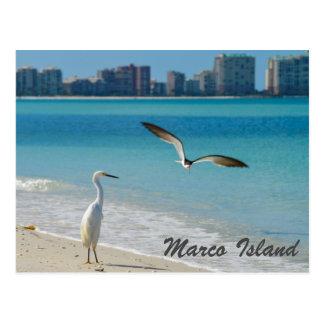 Marco Insel-Tierpostkarte Postkarte