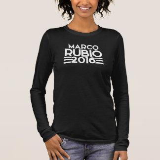 Marco Rubio 2016 Langarm T-Shirt