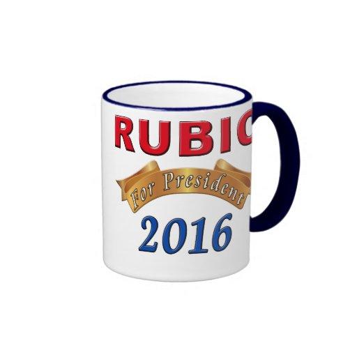 Marco Rubio Präsident 2016 politische Tassen