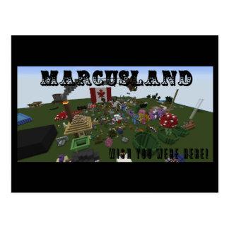 Marcusland! Postkarte