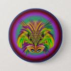 Mardi-Gras-Mask-The-Queen-V-3 Runder Button 7,6 Cm