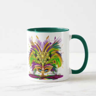 Mardi-Gras-Mask-The-Queen-V-4 Tasse