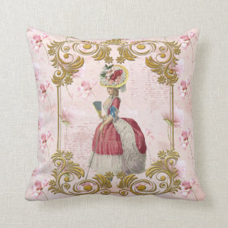 Mare Antoinette Floral Pillow pink クッションC Kissen