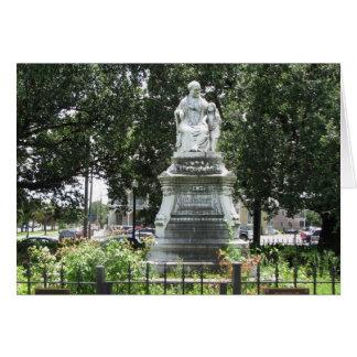 Margaret-Statue New Orleans Karte