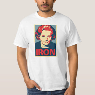 "Margaret Thatcher""Eisen-"" Shirt"
