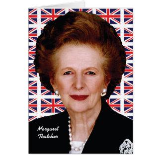 Margaret Thatcher Karte