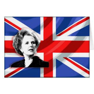 Margaret- ThatcherGewerkschafts-Jack Karte