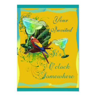 Margarita-Party Karte