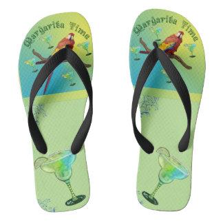 Margarita-Zeit Flip Flops