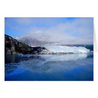 Margerie Gletscher, Glacier Bay Alaska, Karte