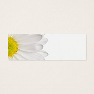 Marguerites customisées par arrière - plan de mini carte de visite