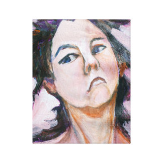 Maria Kopf Leinwanddruck