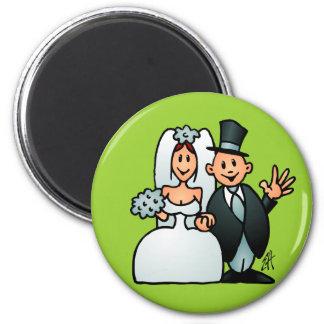 Mariage merveilleux magnets