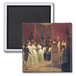 Mariages de la Reine Isabella II Aimant Pour Réfrigérateur