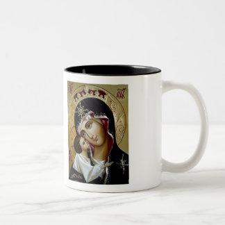 Marian Ikonen-Tasse Zweifarbige Tasse
