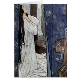 Mariana, Gedicht durch Alfred-Lord Tennyson, Karte