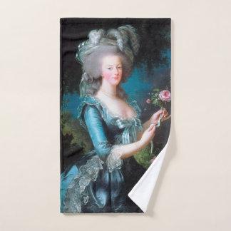 Marie Antoinette Porträt Badhandtuch Set